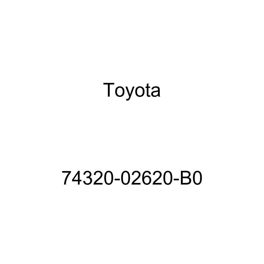 TOYOTA Genuine 74320-02620-B0 Visor Assembly