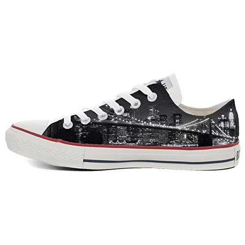 Handmade Star Converse zapatos All Producto Brooklyn personalizados Slim 4FHPq