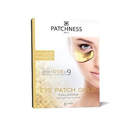 patchness–Eye Patch Gold–Patch antietà Collagene–Estratti D' oro 5Paia
