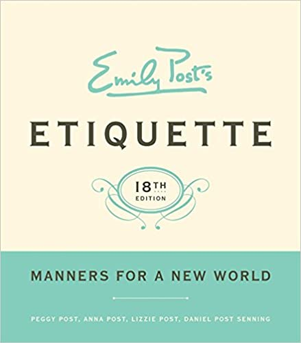 Image result for picture of etiquette book