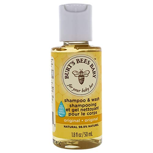 Burt's Bees Baby Bee Travel Size Shampoo & Wash - 1.8 oz