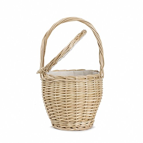 NEW Straw Bags Women Summer Wicker Basket Bag Beach Handbags Ladies Hand Bag Tote Travel Clutch Khaki