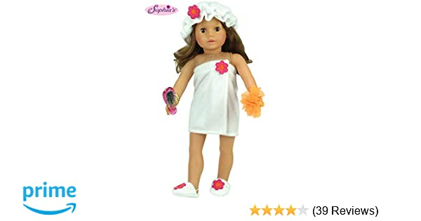 Doll Clothes Bath Spa Set made for 18 inch American Girl