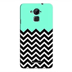Cover It Up - B&W&Cyan Sky Coolpad Note 3Hard Case