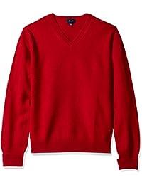 Men's V-Neck Casmere Sweater