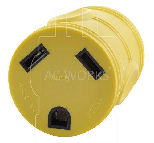 AC WORKS Generator to 30Amp RV Adapter (L14-30 30A 4-Prong Locking Compact) by AC WORKS (Image #3)