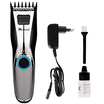 Hair Clippers For Men Trimmer With Stainless Steel Ceramic Blade Cutting Machine Rechargeable Battery