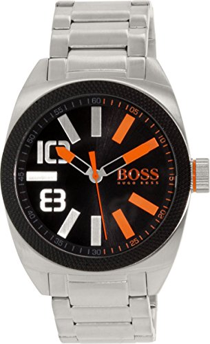 Hugo Boss Men's 1513114 Silver Stainless-Steel Quartz Watch