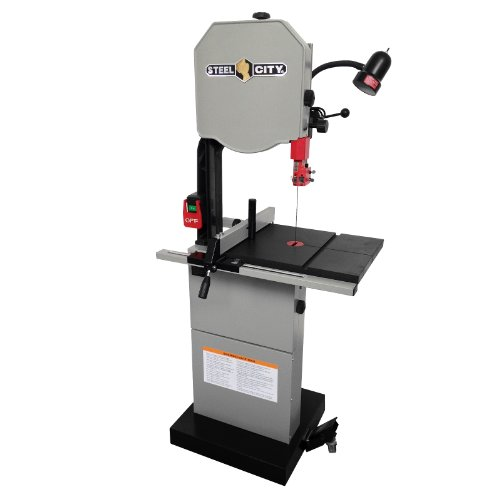 Steel City Tool Works Deluxe Hybrid Bandsaw with Granite Table, 14