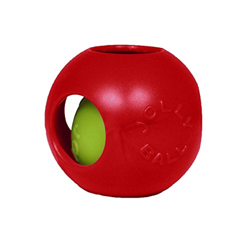 Jolly Pets 6-Inch Teaser Ball, Red