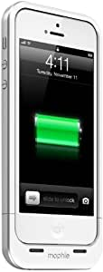 mophie 2386 Juice Pack Air for iPhone 5/5s/SE - White
