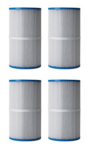 4) Unicel C-5300 Spa Replacement Cartridge Filters 50 Sq Ft Jacuzzi Front Load by Unicel