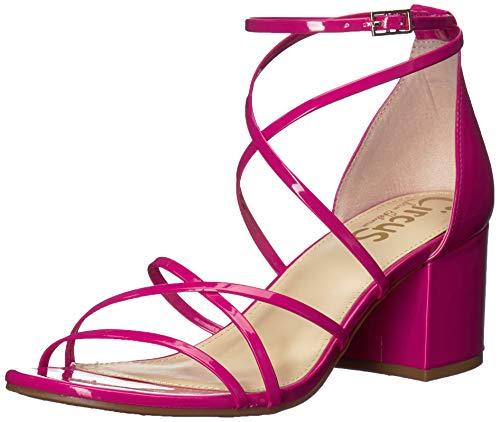 Circus by Sam Edelman Women's Sheila Heeled Sandal, hot Pink Patent, 6.5 M US