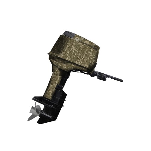 Mossy Oak Graphics 10005-40-BL Bottomland 40 HP or Less Boat Motor Camouflage Kit ()