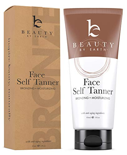 Self Tanner for Face with Organic & Natural Ingredients,...