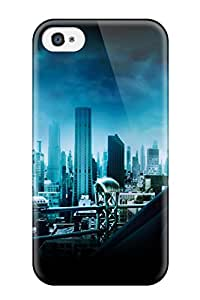 8735608K83316811 New Style Tpu 4/4s Protective Case Cover/ Iphone Case - Batman 3 Gotham City