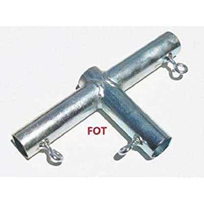 Golden Valley Tools & Tarps 3 way SLIDING T 3/4 CANOPY FITTING (FOT) ~ 3/4 Pipe: Garden & Outdoor