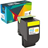 Do It Wiser Compatible Lexmark 701HY Toner Cartridge Replacement for Lexmark CS310n CS310dn CS410n CS410dn CS410dtn CS510de CS510dte 70C1HY0 (3,000 Pages, Yellow)
