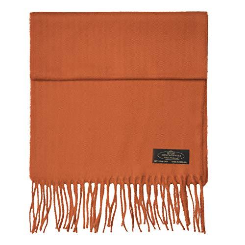 100% Cashmere Scarf Super Soft For Men And Women Warm Cozy Scarves Multiple Colors FHC Enterprize (Rust) by FHC Enterprize