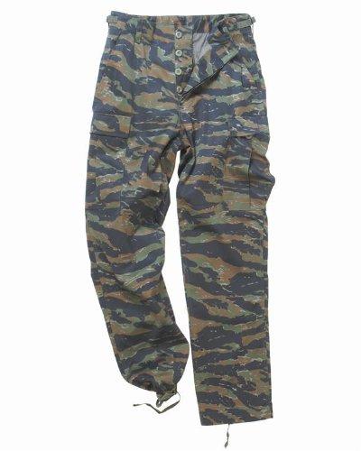 Mil-Tec BDU Combat Trousers Tiger Stripe size XXL