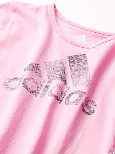 adidas Girls' Short Sleeve Scoop Neck Tee 2