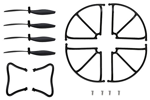 Holy-Stone-F181C-F181W-Altitude-Hold-Version-Spare-Part-Main-Blades-Propellers-blade-guard