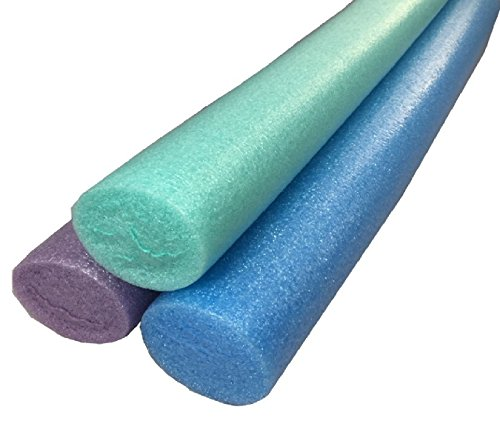 RoadRunner 3 Pack No Hole Extra Long Deluxe Solid Core Pool Noodles by RoadRunner (Image #2)