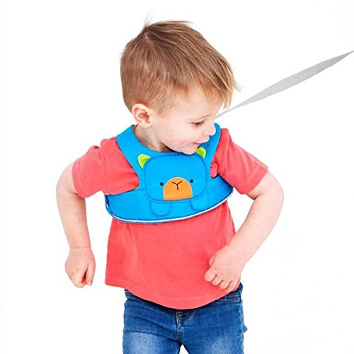 Trunki ToddlePak: Toddler Walking Leash, Kids Safety Harness: Bert Bear (Blue) by Trunki (Image #2)