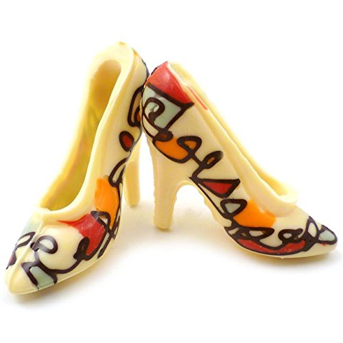 White Chocolate Shoes - Artist Squiggle