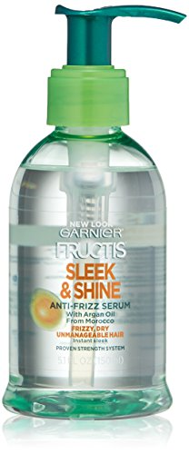 Garnier Hair Care Fructis Sleek & Shine Anti-frizz Serum, 5.1 Fluid Ounce