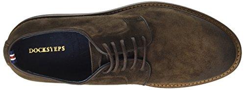 620 1610 Marrón Docksteps Mud Hombre Zapatos Low Wells Derby 8EwqaRE
