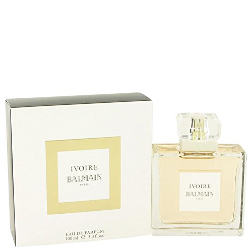 (IVOIRE DE BALMAIN by Pierre Balmain Eau De Parfum Spray (New Packaging) 3.3 oz for Women - 100% Authentic )