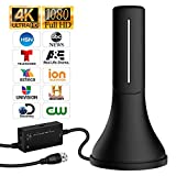 HDTV Antenna - 2019 Update Version Portable HDTV Digital Antenna, 60-120Mile Long Range