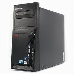 Refurbished - Lenovo M58 Desktop PC Tower - Intel C2D E8400 3.00GHz, 8GB RAM, 1TB HDD, DVD+RW, Windows 7 Professional 64-bit (by RefurbTek)