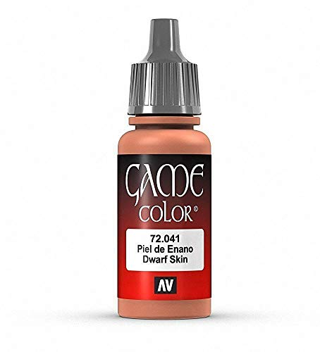 Vallejo Game Color Acrylic Paint Dwarf Skin 17ml Jar #72.041