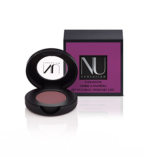 NU EVOLUTION Pressed Eye Shadow, Eggplant, Natural, Organic