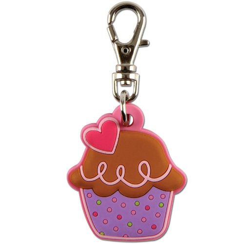 BUYSEASONS Cupcake Zipper Pull Party Accessory (Toy Buyseasons)