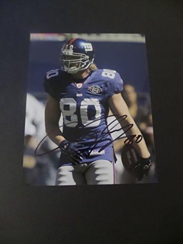 promo code 8a6a4 f9930 Jeremy Shockey Giants Autograph, Giants Jeremy Shockey Autograph