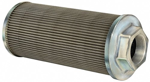 "100 Mesh, 378 LPM, 100 GPM, 5.4"" Diam, Female Suction Strainer without Bypass, 3 Port NPT, 12-1/2"" Long -  Flow Ezy Filters"
