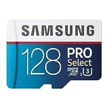 Samsung PRO Select Micro SDXC Memory Card, 128GB, 95MB/s (MB-MF128DA/AM)