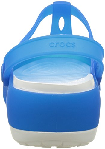Carliecutoutclg White Sabots Bleu Ocean Femme Crocs xgYvHqdwg