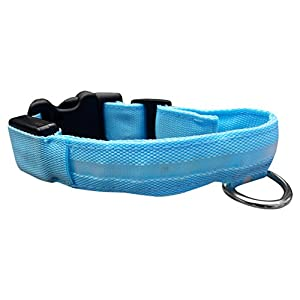 ASPCA Adjustable LED Safety Collars for Dogs & Cats, Three Long Lasting Blinking Options 12