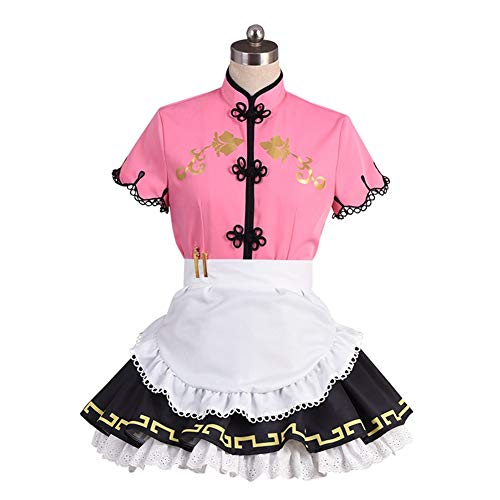 Love Live! Sunshine! Ruby Kurosawa Cosplay Costume Women's Cheongsam for Halloween Party Pink -