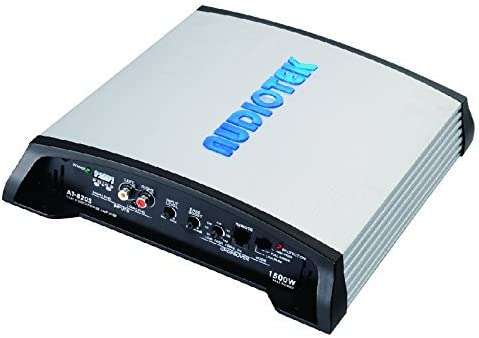 AUDIOTEK AT820S 2 Channels Class AB 2 OHM Stable 1500W Stereo Power CAR Amplifier W//BASS Control