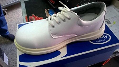 scarpe scarpa con lacci calzature antinfortunistica bianche ristorante cucina 39