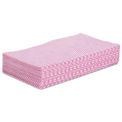 ボードウォークFoodserviceワイパー、ピンク/ホワイト、12 x 21、200 /カートン B015EY9IUO