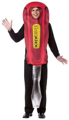 [Rasta Imposta Hard Wear Screwdriver Adult, Multi, One Size] (Primrose Halloween Costume)