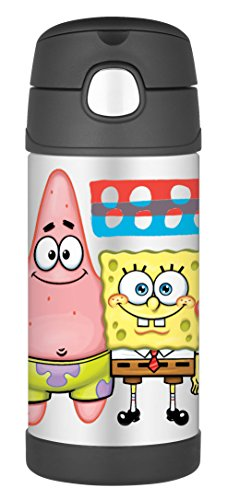 thermos-funtainer-12-ounce-bottle-spongebob