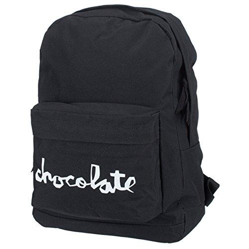Chocolate Chunk Simple Backpack - Black