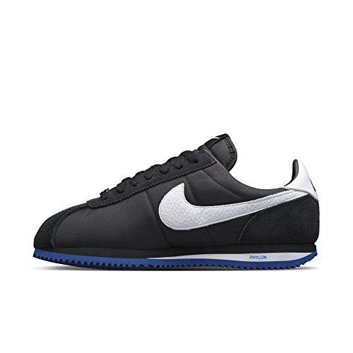 Nike Cortez Basic Sp / Undftd, Zapatillas de Running Para Hombre Negro / Blanco / Azul (Black / White-Sport Royal)